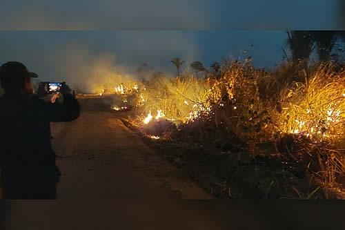 Impulsan procesos legales por incendios forestales y analizan endurecer las sanciones
