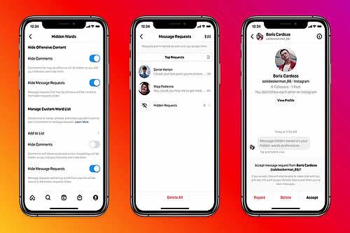 Instagram saca un filtro para proteger a los usuarios de los mensajes agresivos