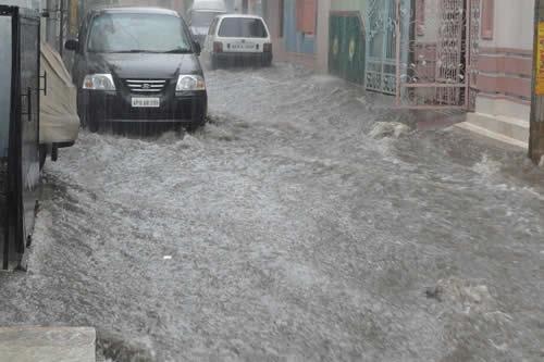 Inundaciones: la fuerza del agua