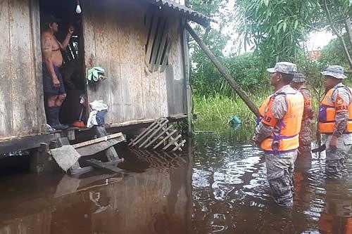 Descienden los niveles de agua en Puerto Villarroel e Ivirgarzama