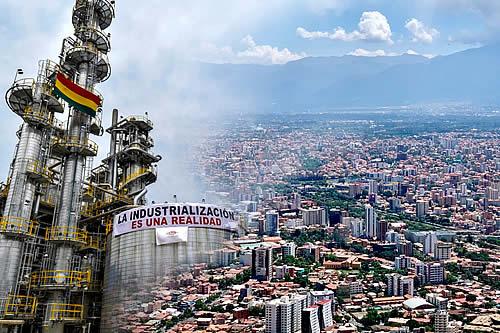 Gobierno reactiva la economía de Cochabamba con más de $us 90 millones de inversión en hidrocarburos