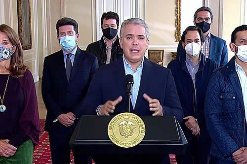 Presidente Iván Duque ordena retirar proyecto de reforma tributaria en Colombia
