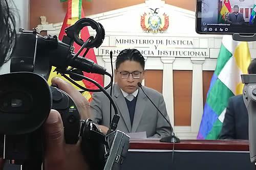 Gobierno informa que se amplió el tiempo para entregar informe a la CIDH sobre Añez