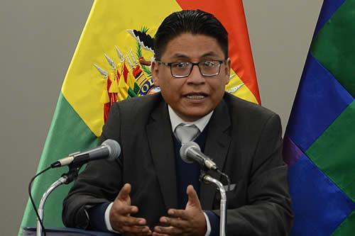 Ministro de Justicia propone combinar propuestas y preselección de candidatos con consenso político para la reforma judicial