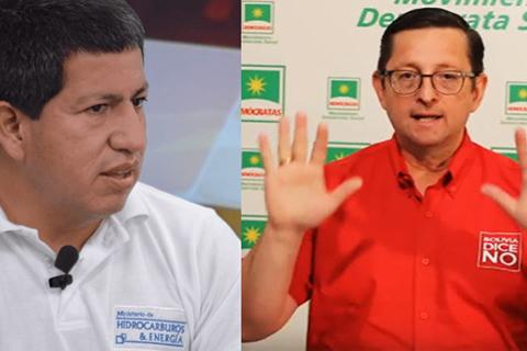 Sánchez y Ortiz en duelo aparte por el nivel de las reservas de gas de YPFB