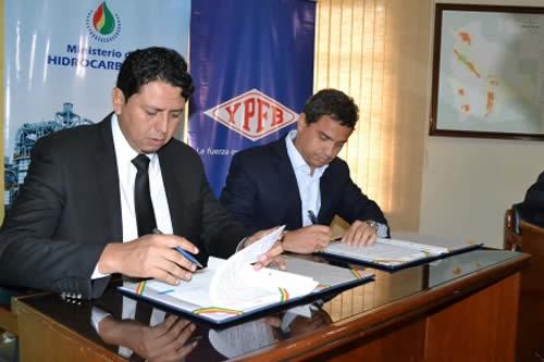 YPFB y la distribuidora más grande de Brasil firman memorando de entendimiento para venta de gas