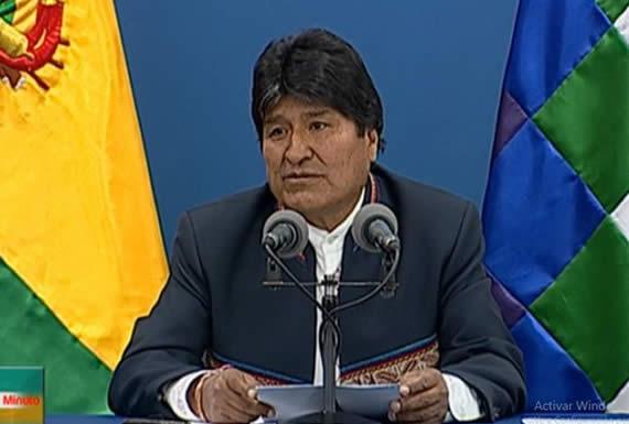Presidente dice que está dispuesto a coadyuvar nuevamente para que La Paz resuelva el problema de la basura