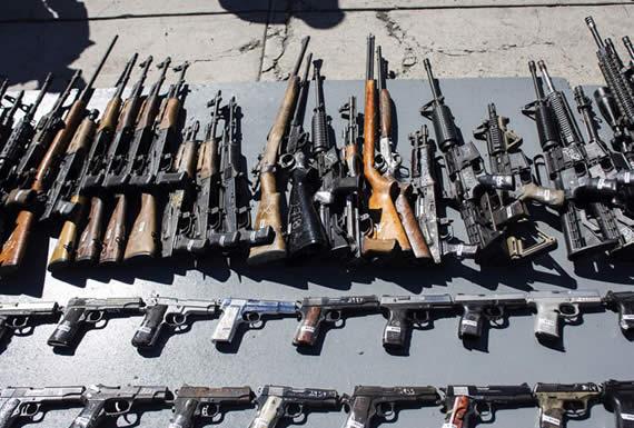 En México circulan 1,6 millones de armas de fuego ilegales y la mayoría proviene de EE.UU.