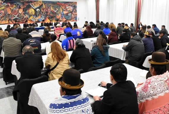 Canelas aclara que Gabinete Ampliado evaluará la gestión pública