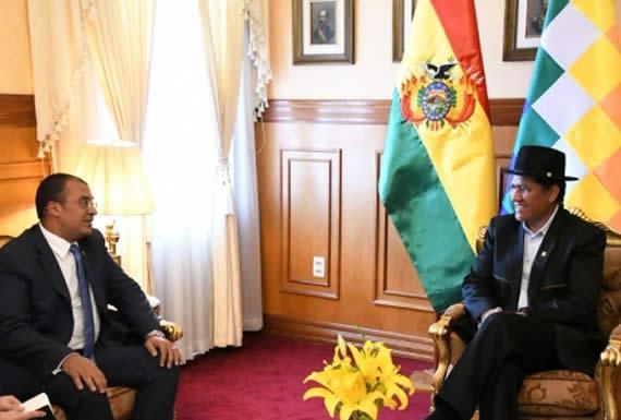 Canciller y organizadores de reunión empresarial en Dubái revisan oportunidad de inversiones en Bolivia