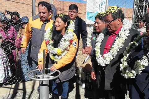 Chapetón entrega proyecto de Cárcamos de Bombeo