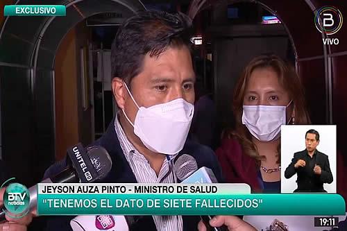 Ministro de Salud compromete atención médica a estudiantes heridos de la UPEA