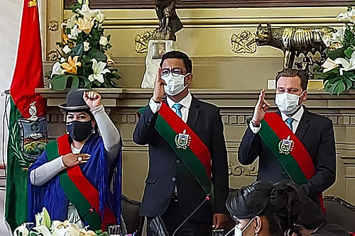 Eligen a Jorge Dulón como presidente del Concejo Municipal de La Paz