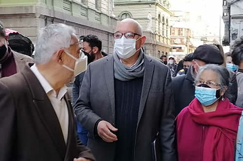 Citan para el viernes a José Antonio Quiroga y Luis Vásquez por caso denominado 'golpe'