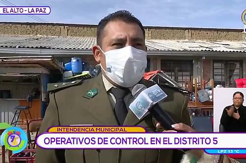 El Alto: Intendencia interviene bares ilegales cerca de la UPEA