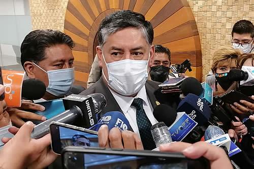 Lanchipa recuerda que Añez tiene dos procesos: en uno se cumplió plazo de detención y en otro sigue vigente