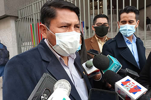 Angulo: Opositores vieron en el proyecto de Ley Contra Ganancias Ilícitas una oportunidad para la impunidad