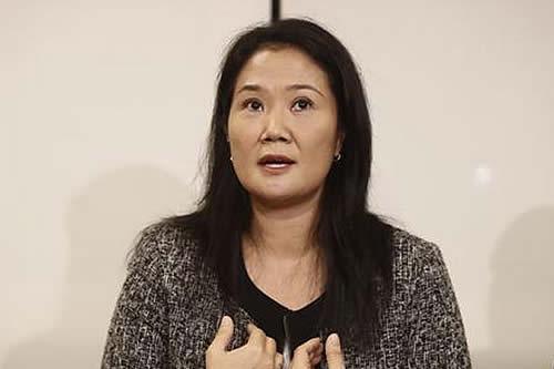 Perú: Fiscal de caso Lava Jato pide prisión preventiva para Keiko Fujimori