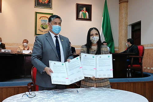 Fiscalía y Universidad Privada del Chaco suscriben convenio para prácticas profesionales a estudiantes de Derecho