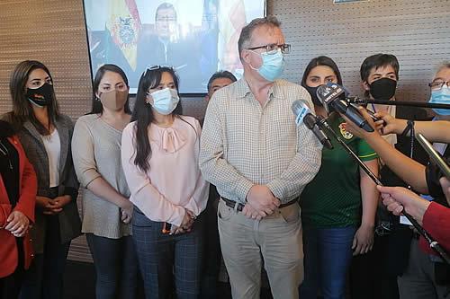 La oposición ve un 'triunfo' de la ciudadanía que se haya dejado sin efecto el proyecto de ley Contra Legitimación de Ganancias Ilícitas