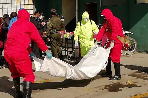 A la fecha, el IDIF levantó 2.094 cadáveres de fallecidos confirmados y sospechosos de COVID-19