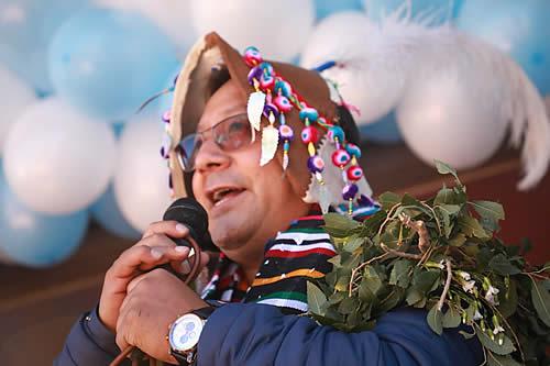 Presidente Arce pide en San Pedro de Macha unidad ante afanes de desestabilización