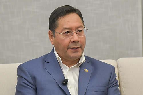 Presidente Arce: Impuesto a las Grandes Fortunas busca cerrar la brecha entre ricos y pobres que se incrementó en el régimen de Áñez