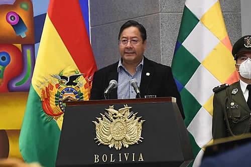 Presidente Arce instruye investigar causas del accidente de avioneta de la FAB en Pando
