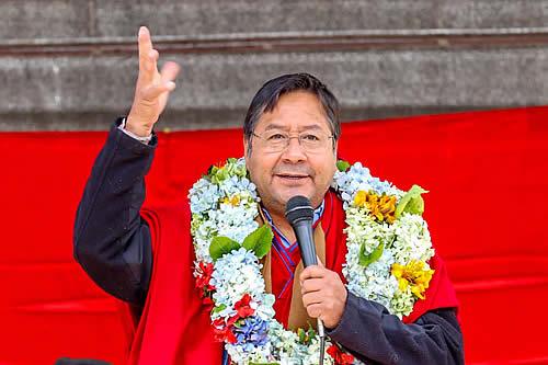 Presidente Arce destaca vigencia de la Ley 045 y ratifica compromiso para eliminar el discurso de odio en Bolivia