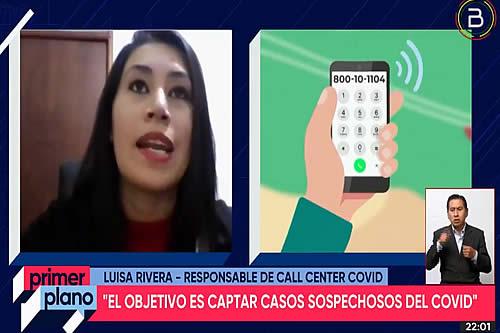 """""""Tu médico en línea"""" atendió 28.571 llamadas telefónicas y logró detectar 3.331 casos sospechosos de COVID-19"""