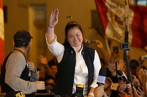 Expresidente de Corte: sentencia que liberó a Keiko Fujimori no se puede anular