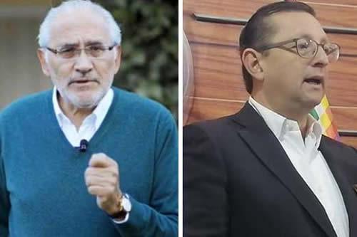 """Censura a encuesta: Mesa dice que es una """"vergüenza"""", Ortiz prefiere no opinar"""