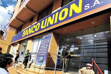 Creditos banco union bolivia for Banco union uninet