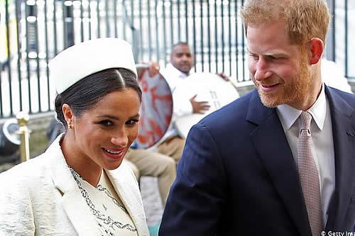 """""""Megxit"""": monarquía británica debate el futuro de Enrique y Meghan"""