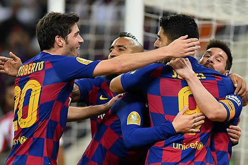 El Barça y el Real Madrid lideran la lista de los clubes con mayores ingresos