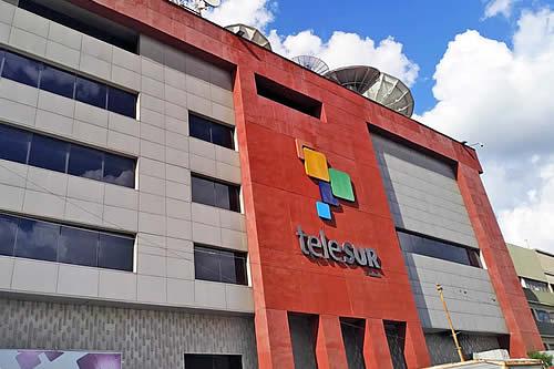 """TeleSUR, sobre la amenaza de Guaidó de sustituir la señal: """"En nombre de la libertad de expresión, quieren secuestrarla"""""""