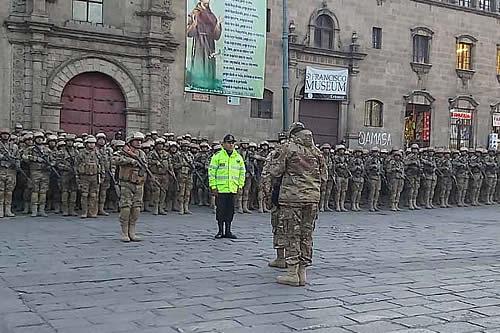 FFAA y Policía despliegan a 70 mil efectivos en patrullaje conjunto previo al 22