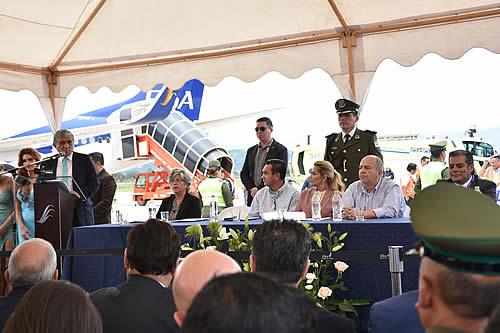 BoA fortalecerá en febrero su flota con otra aeronave y servicio Wifi en vuelos comerciales