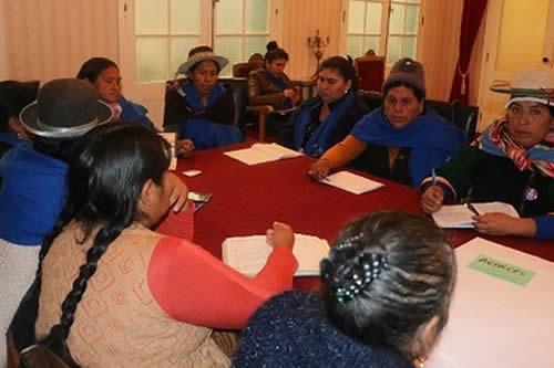 Encuentro nacional de mujeres socializará agenda de despatriarcalización en La Paz