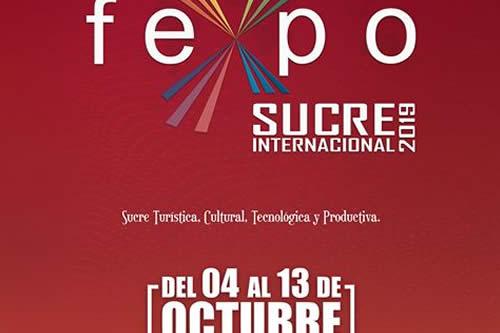 Casi una treintena de artistas nacionales e internacionales participarán en Fexpo Sucre 2019