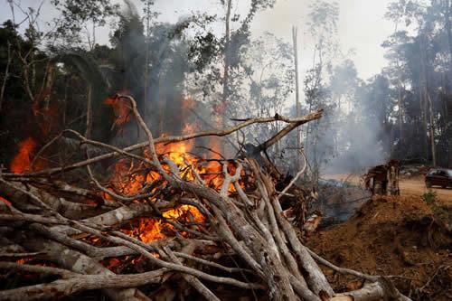 Asunción puede volver a tener un nivel alto de contaminación por los incendios