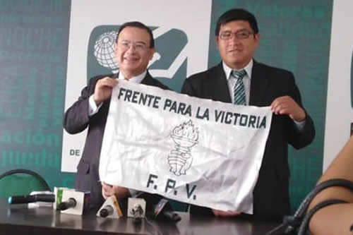 Propuestas del FPV: Nacionalizar la Cervecería, coca cero en el Chapare y eliminar colegios privados