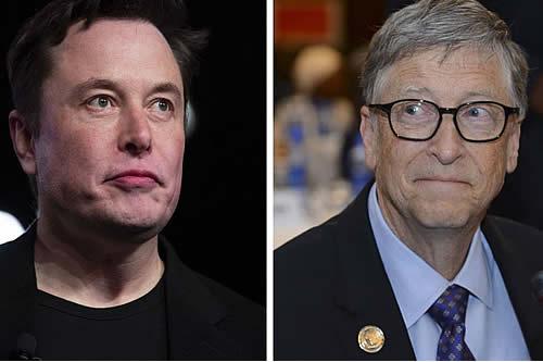 """Elon Musk comparte su impresión acerca de Bill Gates: """"Decepcionante"""""""
