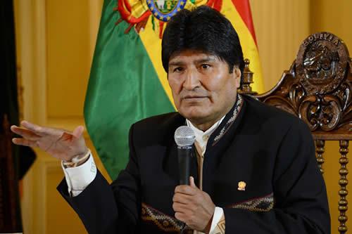 Presidente Morales recuerda que la oposición bloqueó leyes sociales y la Asamblea Constituyente