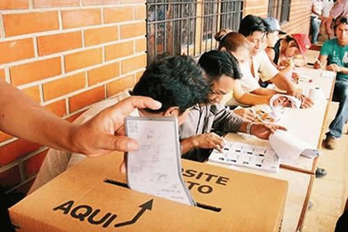 TED de Oruro elige a 9.876 personas para jurados electorales