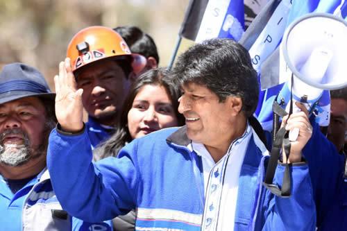 Opositores bolivianos confirman asamblea popular en La Paz contra repostulación de Morales