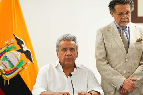 La contundente respuesta de Lenín Moreno sobre si ha pensado renunciar a la Presidencia de Ecuador