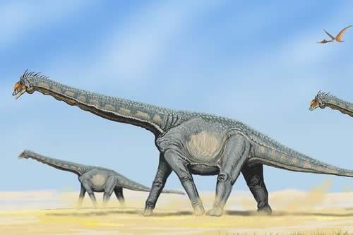 Hallan huellas de dinosaurios de hace 100 millones de años en China