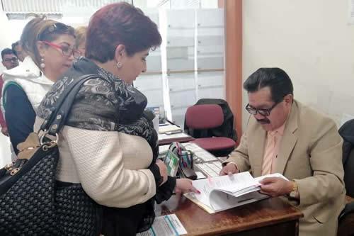 Barriga interpone recurso contra vocales del TSE y suspender elecciones