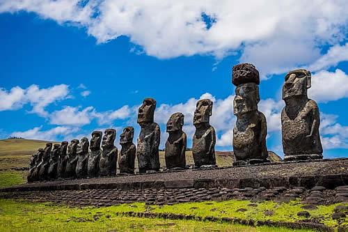 El aporte inesperado de los moais de la Isla de Pascua